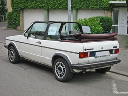 1984 Cabriolet Convertible by Volkswagen in Paper Towns