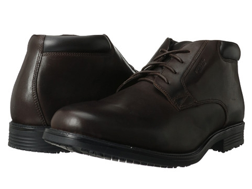 Essential Details Waterproof Dress Chukka Boots by Rockport in Need for Speed