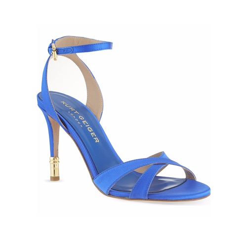 Chelsea Satin Sandals by Kurt Geiger in La La Land