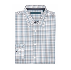 Multi Color Plaid Shirt by Perry Ellis International in Silicon Valley