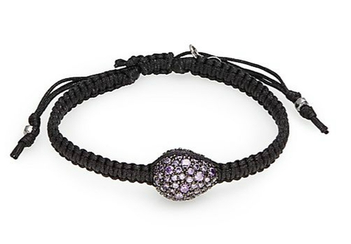 Pavé Dome Charm Braided Bracelet by Tai in Scout's Guide to the Zombie Apocalypse