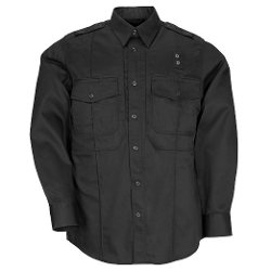 Men's PDU Long Sleeve Shirt by 5.11 in Hot Pursuit