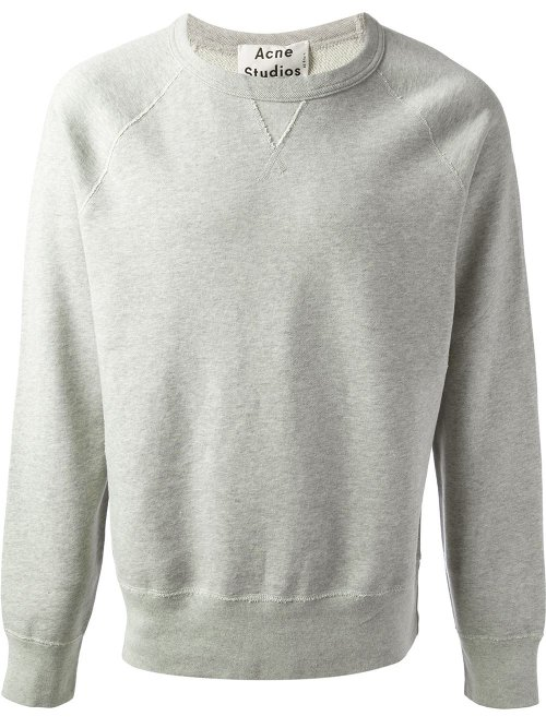 College Sweatshirt by Acne Studios in Taken 3