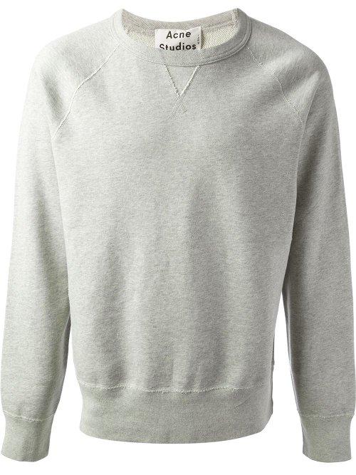 College Sweatshirt by Acne Studios in Taken 3