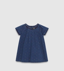 Baby Denim Dot Pattern Dress by Gucci in Modern Family