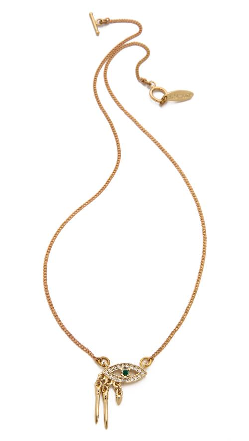 Panoptes Necklace by Lulu Frost in The Other Woman