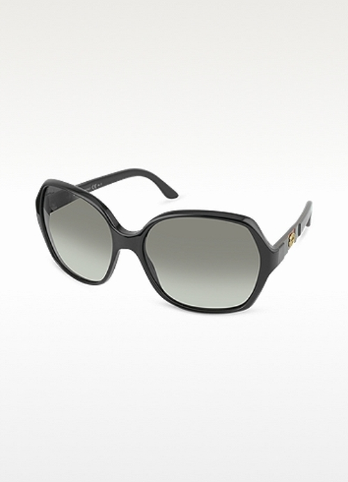 Large Square Frame Sunglasses by Gucci in Self/Less