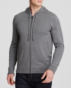 French Terry Zip Hoodie by Michael Kors in Central Intelligence