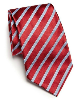 Striped Silk Tie by Ike Behar in Brooklyn Nine-Nine