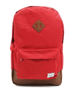 Heritage Red Backpack by Herschel in Paper Towns