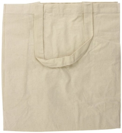 Cotton Canvas Grocery Tote Bag by Green Earth Bags in Adult Beginners