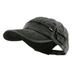 Cotton Washed Pocket Cap by MG in Ricki and the Flash