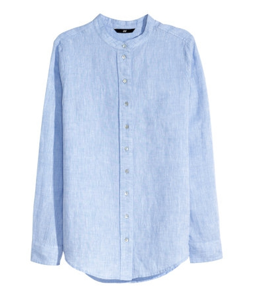 Linen Blouse by H&M in The Forest