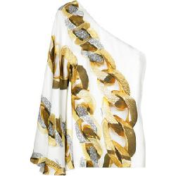 Chain-Print Silk Top by Roberto Cavalli in Sex and the City 2