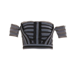 Striped Crop Top by Erdem in Keeping Up With The Kardashians