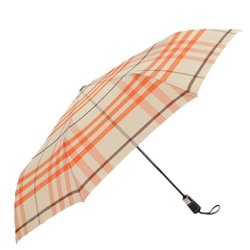 Adults Automatic Dual Visor Plaid Sun Umbrella by Umbrellas in The Gambler