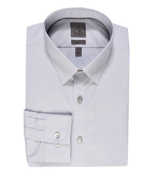 Slim Fit Dress Shirt by Calvin Klein in (500) Days of Summer