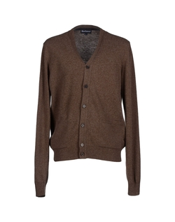 Wool Button Cardigan by Barbour in Christmas Vacation