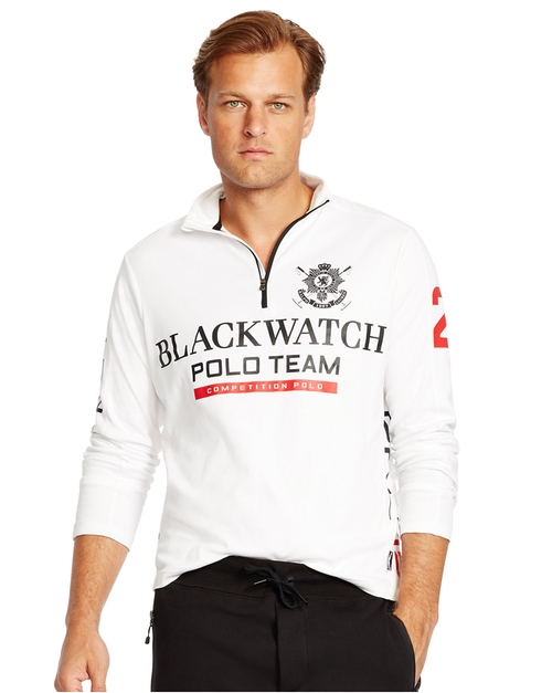 Blackwatch Half-Zip Pullover by Ralph Lauren in Rocky IV