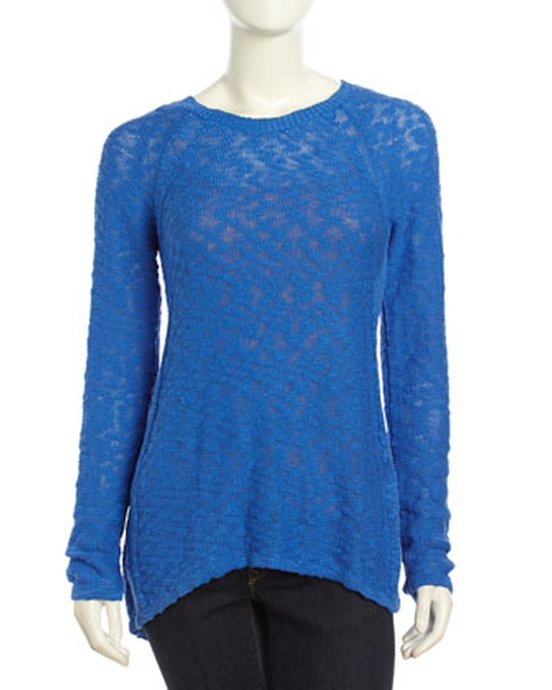Long Sleeve Pullover Tee by Neiman Marcus in The Boy Next Door
