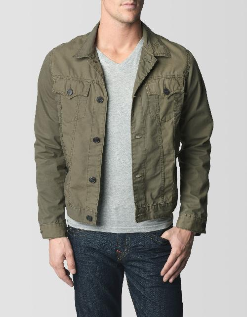 JIMMY TRUCKER MENS DENIM JACKET by True Religion in Transcendence