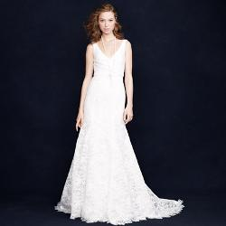 SARA LACE GOWN by J.CREW in Jersey Boys