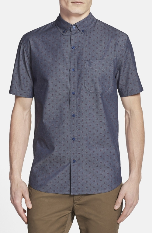 Duke Paisley Sport Shirt by Front Street in Boyhood