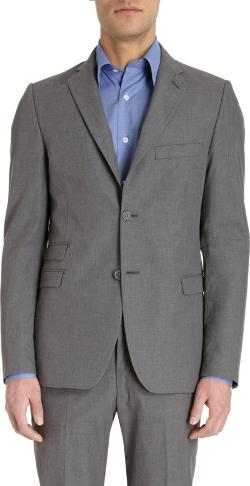 Two-button Suit Jacket by Barneys New York in The Hundred-Foot Journey