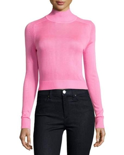 Funnel-Neck Cropped Sweater by John & Jenn in Bad Moms