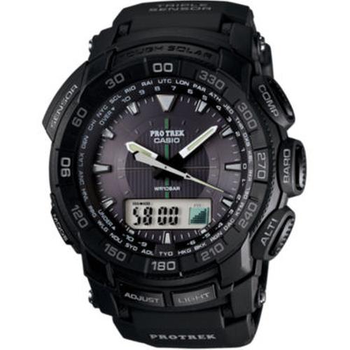 Mens Triple Sensor Solar Watch by Casio in The Big Lebowski