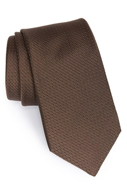 Woven Silk Tie by Michael Kors in Unbroken