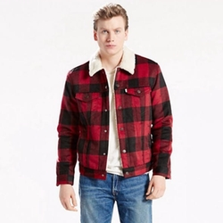 Sherpa Truck Jacket by Levi's in Why Him?
