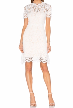 Allegra Lace Dress by Homebodii in Jane the Virgin