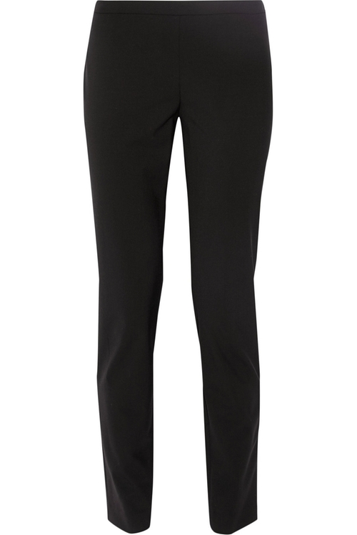 High-Rise Stretch-Wool Skinny Pants by Theory in Pretty Little Liars - Season 6 Episode 8