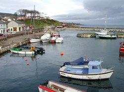 Larne, United Kingdom by Carnlough Harbor (Depicted as Braavos) in Game of Thrones