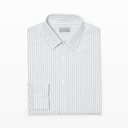 Slim-Fit Stripe Dress Shirt by Club Monaco in The Blacklist