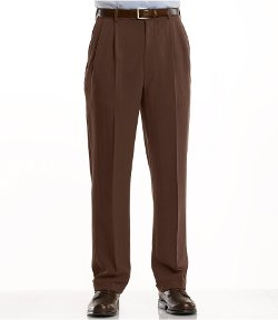 Signature Wool Gabardine Pleated Trousers by Jos.A.Bank in If I Stay