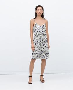 Floral Dress by Zara in Pretty Little Liars