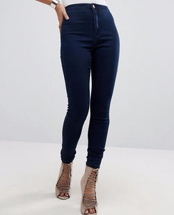 (Modified) Vice High Waisted Super Stretch Skinny Jeans by Missguided in Pitch Perfect 3