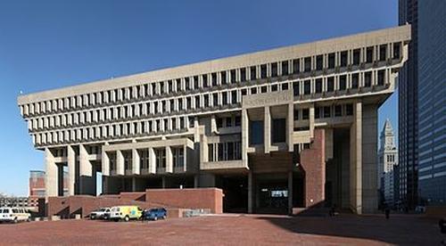 Boston City Hall Boston, Massachusetts in Black Mass