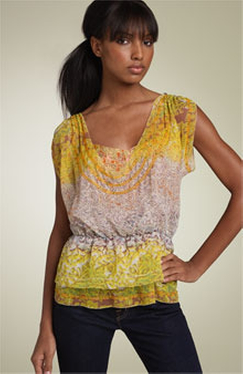 Esmeralda Top by Diane Von Furstenberg in Gossip Girl