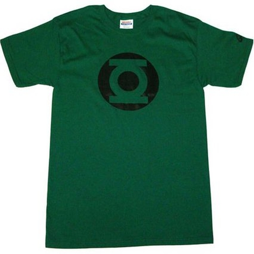 Green Lantern Metalix Logo Men's T-Shirt by Graphitti Designs in The Big Bang Theory - Season 9 Episode 10