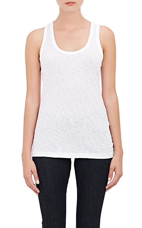 The Classic Beater Tank Top by Rag & Bone in Rosewood