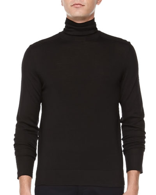 Nalles New Sovereign Turtleneck Sweater by Theory in A Most Violent Year