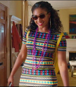 Crew Neck Dress by Capella Apparel in Girls Trip