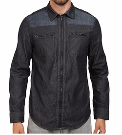 Denim Block Shirt by Calvin Klein Jeans in Teen Wolf