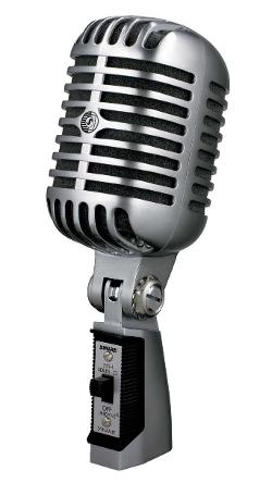 Series II Iconic Unidyne Vocal Microphone (The Elvis Microphone) by Shure by Shure in Get On Up