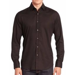 Baylor Textured Button-Down Shirt by Robert Graham in Logan