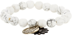 Double-Charm Bracelet by Miracle Icons in Ballers