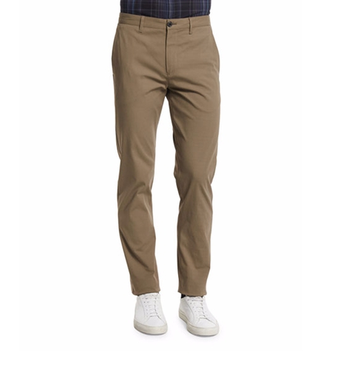 Zaine Slim Straight-Leg Pants by Theory in Why Him?